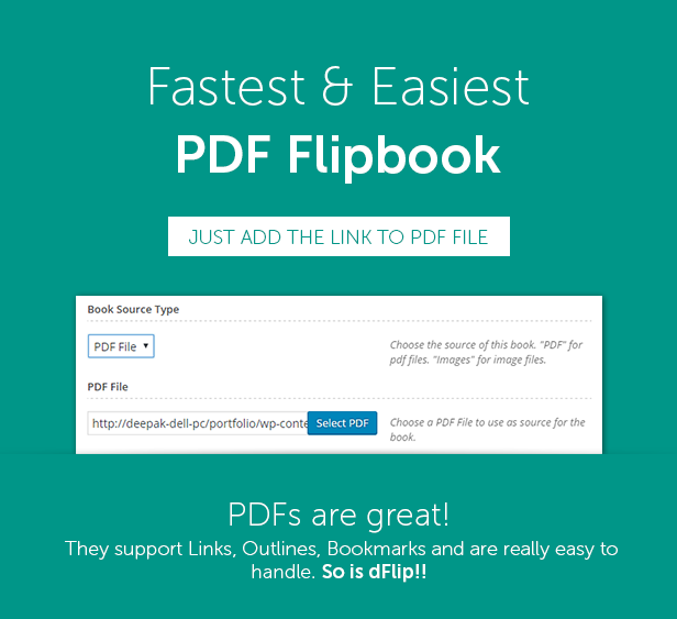 Easy PDF Flipbook for WordPress