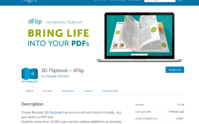 Create PDF Flipbook for your WordPress Site